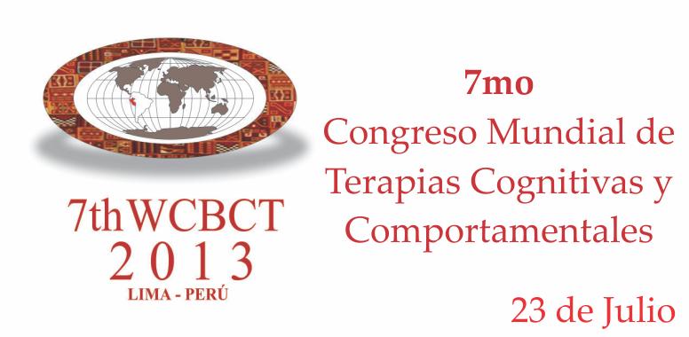 Conmemoración al 7mo Congreso Mundial de Terapias Cognitivas Comportamentales
