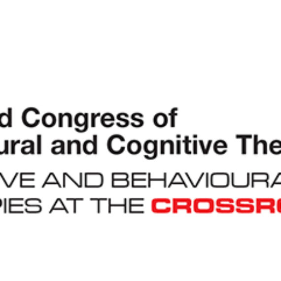 World Congress of Behavioural and Cognitive Therapies 2019